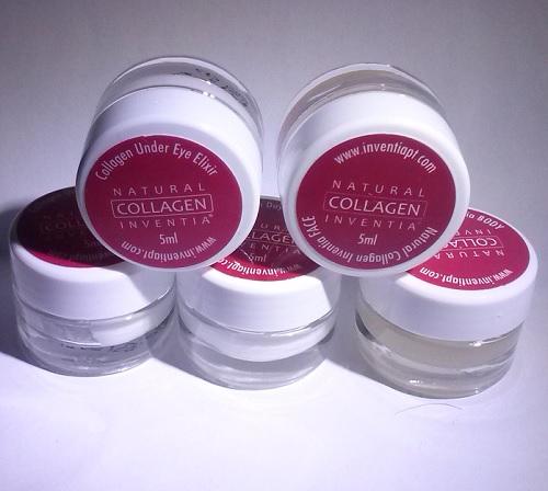 Produktproben Tester Natural Collagen Inventia