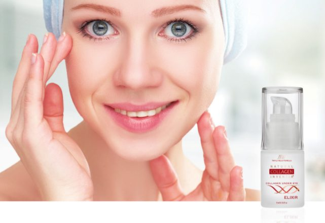 Natural COllagen Inventia - Serum gegen Falten für den Augenbereich