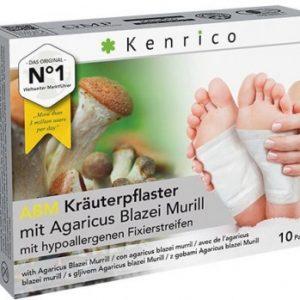 Kenrico Kräuterpflaster ABM mit Agaricus Blazei