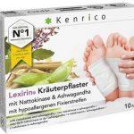 Kenrico Kräuterpflaster Lexirin®mit Nattokinase und Ashwagandha