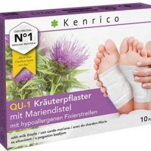 Kenrico Kräuterpflaster QU-1 mit Mariendistel