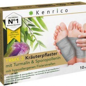 Kenrico Kräuterpflaster TRMX-3 mit Turmalin & Sporopollenin