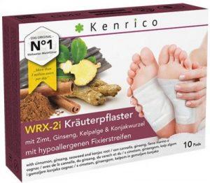 Kenrico Kräuterpflaster WRX-2i mit Zimt, Ginseng, Kelpalge und Konjakwurzel