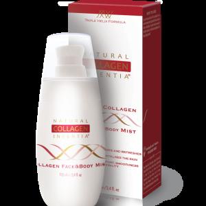 Natural Collagen Inventia erfrischendes Spray mit Kollagen und Hyaluronsäure